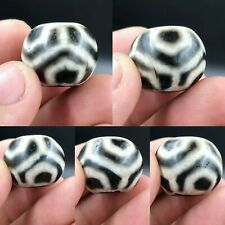 Ancient old Agate Lucky Stripes Powerful bead
