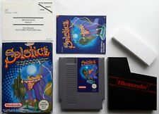 NES - Solstice (PAL-B) boxed with instructions Nintendo NES-LX-FRA