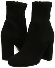 Women's Dune Oliah Rounded Toe Ankle BOOTS in Black UK 8 / EU 41