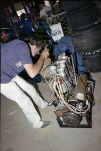 David Hobbs #10 Lola T332 - 1975 F5000 Watkins Glen - Vintage Race Negative