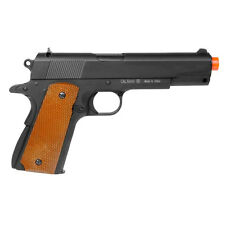 UTG 1911 Tactical Airsoft Full Metal 230-245 FPS 2 Mags HopUp Spring Pistol