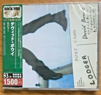 Rare David Bowie Lodger TOCP53546 Import Edition MINT SEALED 10 Tracks