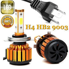 H4 Hb2 9003 440W 52800Lm Led Car Headlight Kit High/Low Power 4-Side Bulbs 6000K(Fits: Isuzu)