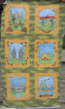 Hiking the Forest Scavenger Hunt, Flannel Panel, Riverwoods 24x42