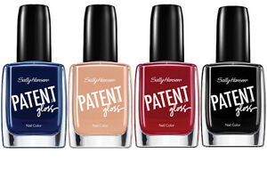 Sally Hansen Patent Gloss Nail Color 11.8ml 0.4 Fl Oz New MORE RANGES IN STOP