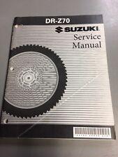 Suzuki Service Manual Repair DR-Z70 2008 Model
