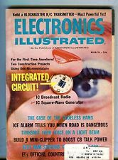 Electronics Illustrated Magazine March 1965 Integrated Circuit VG w/ML 091416jhe