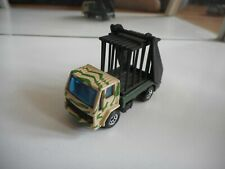 Matchbox Ford Cargo Skip Truck + Animal Cage in Green