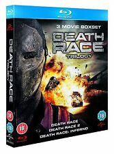 Death Race Trilogy (Blu-ray, 3 Discs, Region Free) *BRAND NEW/SEALED*