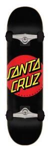 "Santa Cruz Classic Dot Complete Skateboard, 8"""