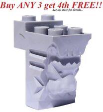 ☀️NEW LEGO Light Gray lion Head - Building Accent Brick Sculpture- Castle Potter