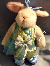 """9"""" HOPPY VANDERBEAR  FABEARGE EGG COLLECTION DRESSED HARE NEW WITH TAGS"""