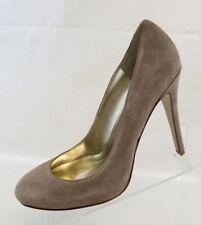 Guess Marciano Pumps Drifter Stiletto Plain Toe Womens Beige Leather Shoes Sz 9M
