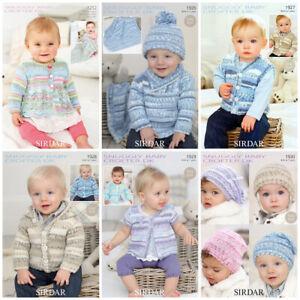 Sirdar Snuggly Baby Crofter Patterns  £2.90 per pattern