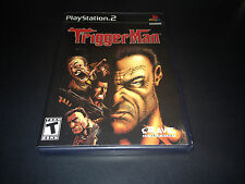"""Trigger Man (PlayStation 2) Complete  """"Great Condition"""""""