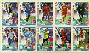 Match Attax On Demand 001 to 005 2021/22 UCL UEFA Champions League Topps