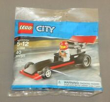 LEGO City Dragster Set 30358 Polybag w Driver Minifigure NEW