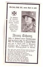 Sterbebild 2.WK DAK Soldat Afrika Gefangenschaft 1942 (44)