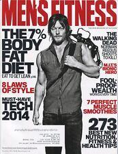 Men's Fitness Magazine ~~ 12/13 ~~ The Walking Dead ~ NORMAN REEDUS ~~ E-1-1