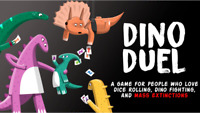 DINO DUEL - Kickstarter Exclusive Card Game