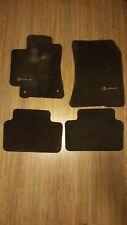 For 01-05 Lexus IS300 Black Nylon Floor Mats Carpet W/ Metal Lexus Emblem