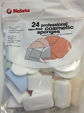 BioSwiss Professional Latex Free Cosmetic Sponges 24 Count Foundation Make Up