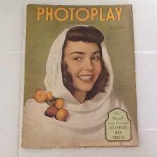 1944 Photoplay Jennifer Jones Dana Andrews Gregory Peck Lena Horne FashionGossip