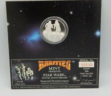 STAR WARS 1oz. .999 SILVER ~ Rarities Mint 10th Anniversary Coin Stormtroopers