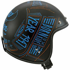 Fibreglass Open Face Matt AGV Motorcycle Helmets