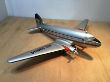 PHILLIPS 66 DIECAST DC-3 VINTAGE AIRPLANE COIN BANK  by SPEC CAST #45009