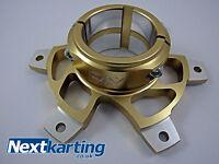 GO KART ALTO SPROCKET CARRIER 50MM GOLD NEW / TKM / ROTAX / NEXTKARTING