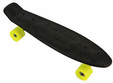 "Skateboard Retro Banana Board 22"" Deck and Pu wheels Abec-7"