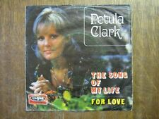 PETULA CLARK 45 TOURS GERMANY THE SONG OF MY LIVE (2)