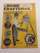 Vintage Home Craftsman Magazine July-August 1950