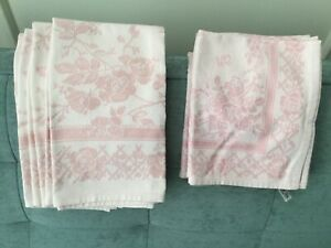 Finest French Le Jacquard Francais  SET OF EIGHT Napkins/Towels Made in France
