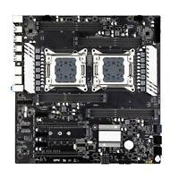 JINGSHA X79 S8 E-ATX Dual CPU LGA2011 Soporte de Placa Base para Intel Dual B9W8