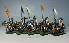 Warhammer - Order Bretonnia - Knights of the Realm x 5 Painted