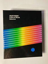 1985 Pantone Color Amp Black Selector Coateduncoated 155 Pages
