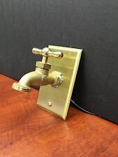 VINTAGE STEAMPUNK STRETCH HOSE BIBB VALVE SWITCH NOW YOU CAN STEAMPUNK YOUR WALL