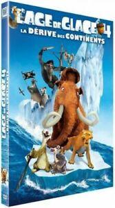 """DVD """"L'Age de glace 4 : la dérive des continents"""" NEUF SOUS BLISTER"""