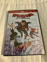 Spider-Man: Into the Spider-Verse (DVD, 2018) ~~AWESOME SALE~~ FREE SHIPPING!