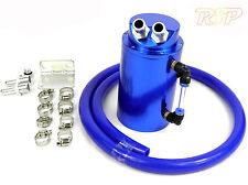 Blue Alloy Oil Catch Tank Can Blue 19mm Hose VW Audi Seat Skoda 1.8 20v Turbo