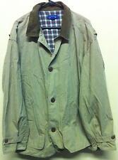 Vtg 1980's 1990's J Crew Sz XL Mens Men's Fall Spring Jacket Coat Plaid J. Crew