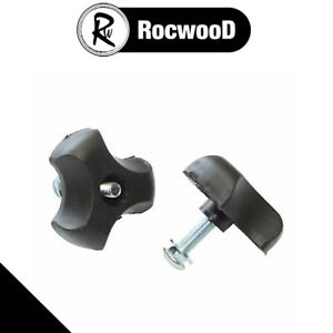 Lawnmower Handle Wing Nut And Bolt 8mm Bolts Pair Of (2) Universal