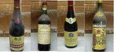 4 Bottiglie di vino d'annata,leggere descrizione
