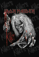 IRON MAIDEN FLAGGE FAHNE COLLAGE KILLERS # 3 POSTERFLAGGE STOFF POSTER FLAG