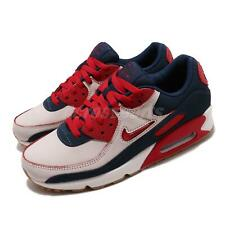 Nike Air Max 90 PRM Home and Away Brush-Off Red Sail Compass Men Shoe CJ0611-101