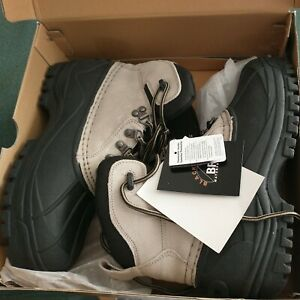Size 8 Black Rock BR Mens Avalanche BUFF Suede Boots Shoe Rubber Thermolite