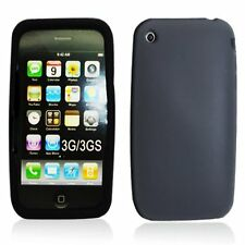 Silicone Skin Case for iPhone 3G / 3GS - Black
