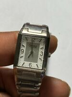 Ladies Silver Tone Caravelle By Bulova A8 Analog Watch